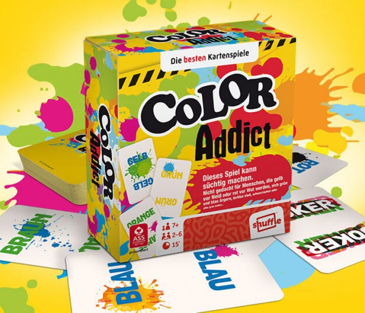 Color Addict Kartenspiel
