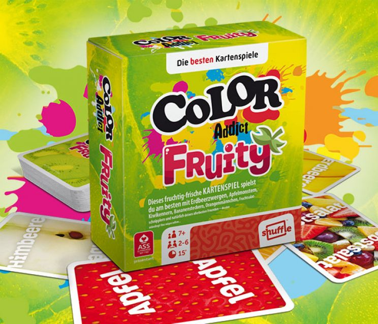 Color Addict Kartenspiel Fruity