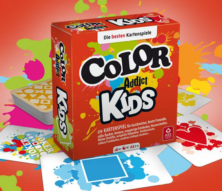 Color Addict Kartenspiel Kids